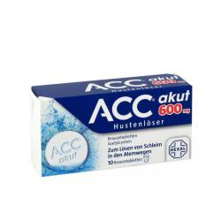 Acc Akut 600 (10 ST.)