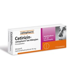 Cetirizin Ratiopharm 10mg...